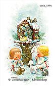 GIORDANO, CHRISTMAS CHILDREN, WEIHNACHTEN KINDER, NAVIDAD NIÑOS, paintings+++++,USGI1770,#XK#