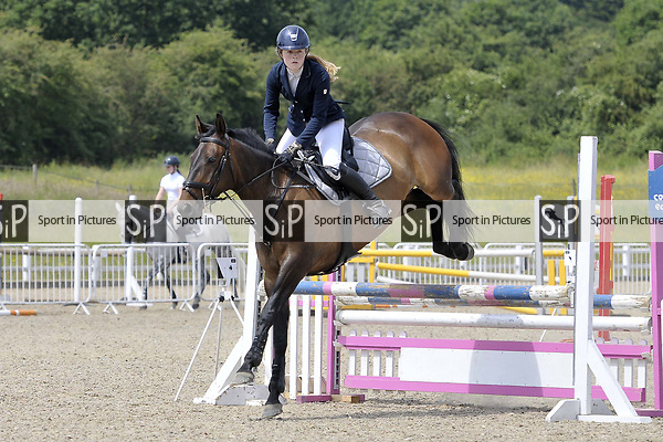 Class 2. British Showjumping seniors. Brook Farm Training Centre. Essex. 09/06/2018. ~ MANDATORY Credit Garry Bowden/Sportinpictures - NO UNAUTHORISED USE - 07837 394578