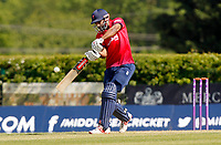 Varun Chopra of Essex hits out during Middlesex vs Essex Eagles, Royal London One-Day Cup Cricket at Radlett Cricket Club on 17th May 2018