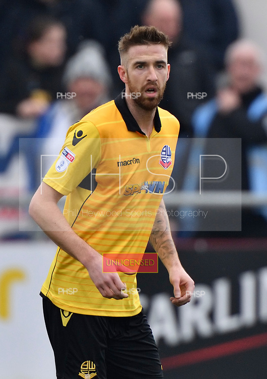 11/03/2017 Sky Bet League 1 Fleetwood Town v Bolton Wanderers<br /> <br /> Mark Beevers, Bolton Wanderers FC