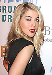 Morgan James attending the Broadway Dreams Foundation's 'Champagne & Caroling Gala' at Celsius at Bryant Park, New York on December 10, 2012