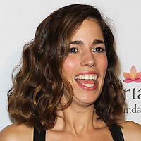 HOLLYWOOD, LOS ANGELES, CA, USA - OCTOBER 09: Ana Ortiz arrives at the Eva Longoria Foundation Dinner held at Beso Restaurant on October 9, 2014 in Hollywood, Los Angeles, California, United States. (Photo by Celebrity Monitor)