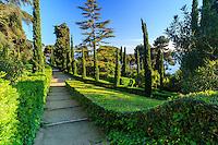 Espagne, Catalogne, Costa Brava, Lloret de Mar, Jardins de Santa Clotilde  // Spain, Catalonia, Costa Brava, Lloret de Mar , Santa Clotilde Gardens