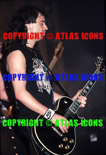 "MOTORHEAD: Ian ""Lemmy"" Kilmister:  New York City: 1988:.Photo Credit: Eddie Malluk/Atlas Icons.com"