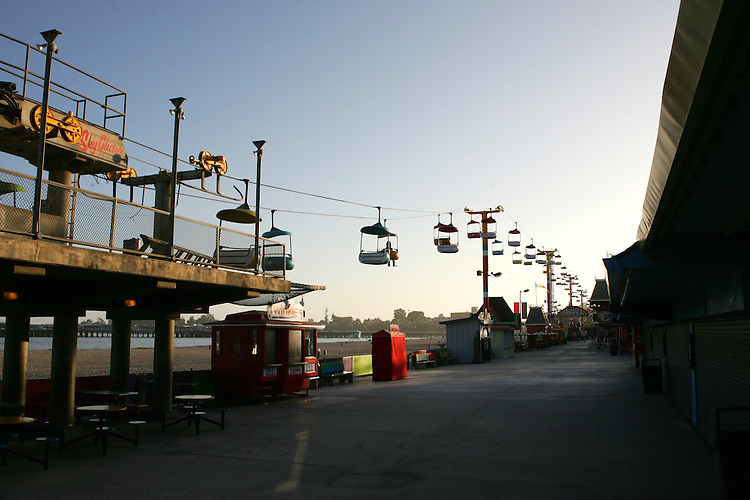 May 21, 2007; Santa Cruz, CA, USA; The Santa Cruz Beach Boardwalk in Santa Cruz, CA. Photo by: Phillip Carter