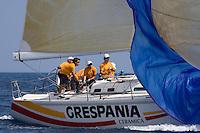 ESP6316 .GRESPANIA .FERNANDO RIBES .LUIS HERNANDEZ SANCHIS PALADIO INVE .R.C.N. CASTELLON .IMX 40 .XIII TROFEO TABARCA CIUDAD DE ALICANTE - Real Club de Regatas de Alicante - 3-6 July 2008 - Alicante, España / Spain