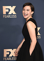 PASADENA, CA - JANUARY 9:  Cailee Spaeny at the 2020 FX Networks TCA Winter Press Tour Star-Walk at the Langham Huntington on January 9, 2020 in Pasadena, California. (Photo by Scott Kirkland/FX Networks/PictureGroup)