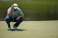 Justin Rose (GBR) looks over his putt on 9 during round 4 of the WGC FedEx St. Jude Invitational, TPC Southwind, Memphis, Tennessee, USA. 7/28/2019.<br /> Picture Ken Murray / Golffile.ie<br /> <br /> All photo usage must carry mandatory copyright credit (© Golffile | Ken Murray)