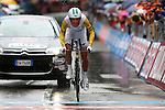 23/05/2015, Valdobbiadene - Giro d'Italia 2015 - Cycling road race - Individual Time Trial<br /> 191 Richie Porte (Aus) in action at the finish of the individual time trial of 59,4 km of stage 14th on 23/05/2015 in Valdobbiadene, Italy.