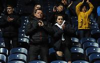 Blackburn Rovers fans applaud their team at the final whistle <br /> <br /> Photographer Kevin Barnes/CameraSport<br /> <br /> The EFL Sky Bet Championship - Blackburn Rovers v Wigan Athletic - Tuesday 12th March 2019 - Ewood Park - Blackburn<br /> <br /> World Copyright © 2019 CameraSport. All rights reserved. 43 Linden Ave. Countesthorpe. Leicester. England. LE8 5PG - Tel: +44 (0) 116 277 4147 - admin@camerasport.com - www.camerasport.com