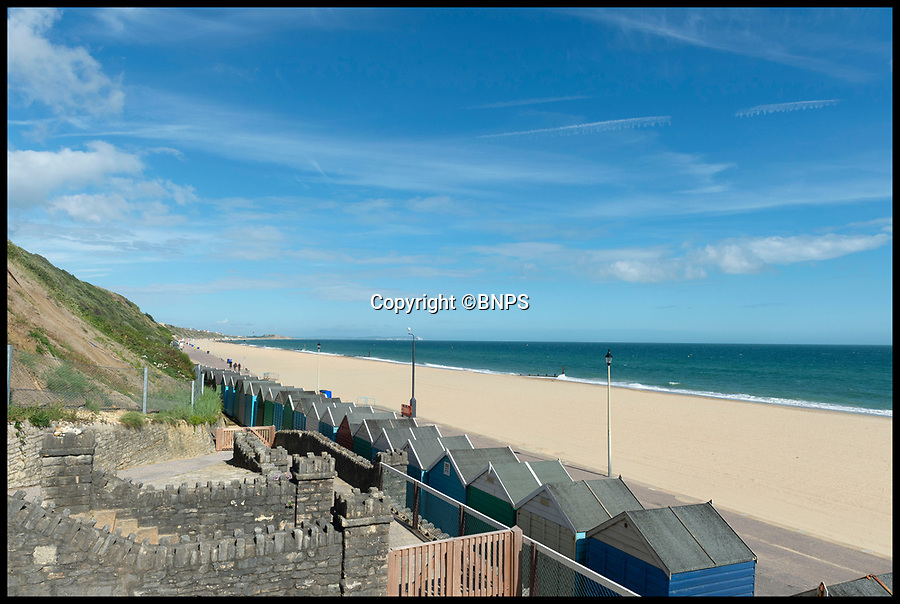 BNPS.co.uk (01202 558833)<br /> Pic : RogerArbon/BNPS<br /> <br /> Upwardly Mobile - Could these two storey luxury beach lodges could spell the end for the humble British beach hut?<br /> <br /> The days of the simplistic wooden beach hut appear to be in the past after a row of luxurious new cabins were unveiled on the south coast.<br /> <br /> The 24 overnight lodges have been opened in Bournemouth, Dorset and are available to rent for an eye-watering £700 for a four night stay.<br /> <br /> The chalets have room to sleep four adults and two children as well as their own private kitchens, toilets and shower facilities.