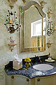 Alamo Heights gorgeous powder room