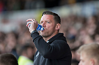 Notts County manager Kevin Nolan during the Sky Bet League 2 match between Newport County and Notts County at Rodney Parade, Newport, Wales on 6 May 2017. Photo by Mark  Hawkins / PRiME Media Images.