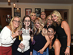 Past pupils from St Oliver's Community College at their Class of '97 reunion in McHugh's. Photo:Colin Bell/pressphotos.ie