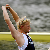 Poznan, POLAND.  2006, FISA, Rowing, World Cup, GBR M4- ,  Andy TWIGGS HODGE, move  away from  the  start, on the Malta  Lake. Regatta Course, Poznan, Thurs. 15.05.2006. © Peter Spurrier   .[Mandatory Credit Peter Spurrier/ Intersport Images] Rowing Course:Malta Rowing Course, Poznan, POLAND