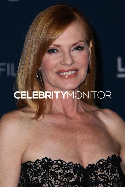 LOS ANGELES, CA - NOVEMBER 02: Marg Helgenberger at LACMA 2013 Art + Film Gala held at LACMA on November 2, 2013 in Los Angeles, California. (Photo by Xavier Collin/Celebrity Monitor)