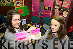 BIO-LOGICAL:Meadhbh Ahern and Blathnaid Buckley from the Intermediate School, Killorglin presented their project on the concentration of biological washing powder on stains at the annual SciFest Science and Technology Fair held in the ITT on Tuesday.