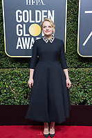Nominated for BEST PERFORMANCE BY AN ACTRESS IN A TELEVISION SERIES &ndash; DRAMA for her role in &quot;The Handmaid's Tale,&quot; actress Elisabeth Moss attends the 75th Annual Golden Globes Awards at the Beverly Hilton in Beverly Hills, CA on Sunday, January 7, 2018.<br /> *Editorial Use Only*<br /> CAP/PLF/HFPA<br /> &copy;HFPA/PLF/Capital Pictures