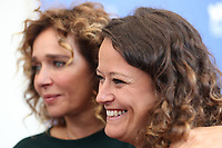 Valeria Golino and Ra Di Martino attend the 'Controfigura' photocall during the 74th Venice Film Festival on September 8, 2017 in Venice, Italy. <br /> CAP/GOL<br /> &copy;GOL/Capital Pictures