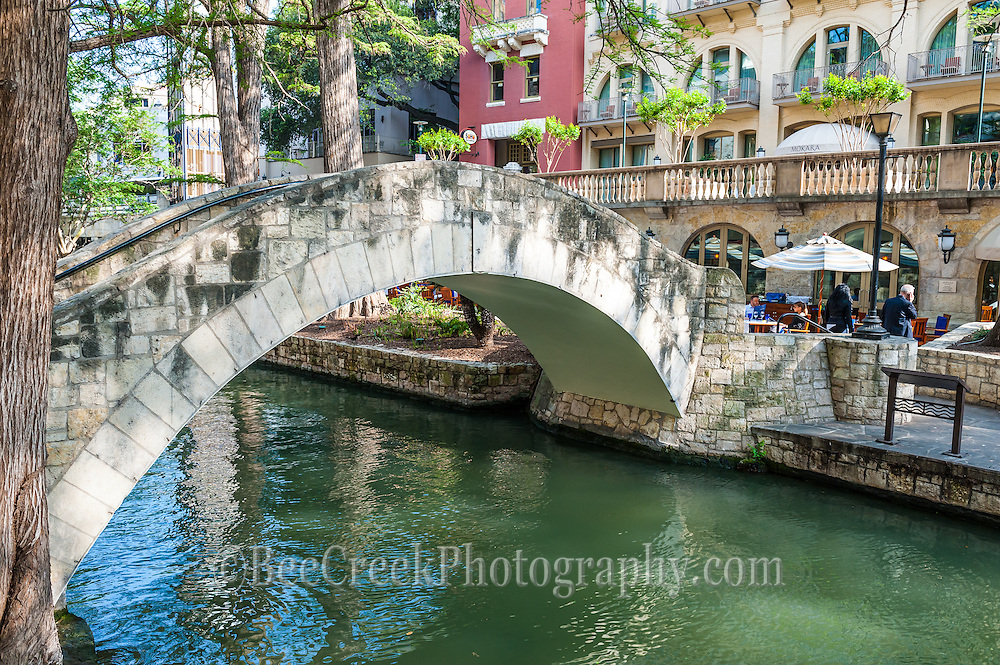 Bridge on San Antonio River Walk