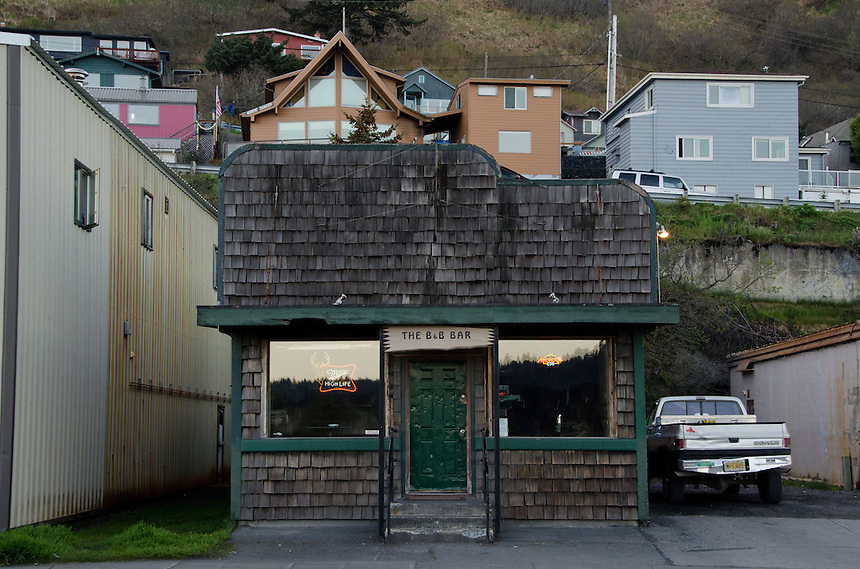 The B&B Bar, Kodiak Island, Alaska, US