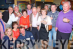 Pictured at the 70th birthday party of Patrick Allen, Killacrim, Listowel, in the Saddle Bar, Listowel on Saturday night.  Patrick is pictured second from left in the striped waistcoat with family and friends.