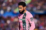 Nabil Fekir of Real Betis Balompie during La Liga match between Getafe CF and Real Betis Balompie at Wanda Metropolitano Stadium in Madrid, Spain. January 26, 2020. (ALTERPHOTOS/A. Perez Meca)