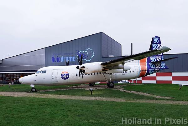 Nederland Lelystad-  Januari 2018.  Lelystad Airport. Aviodrome.  Fokker vliegtuig.  Foto Berlinda van Dam / Hollandse Hoogte
