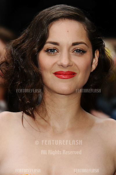 "Marion Cotillard arriving for European premiere of ""The Dark Knight Rises"" at the Odeon Leicester Square, London. 18/07/2012 Picture by: Steve Vas / Featureflash"