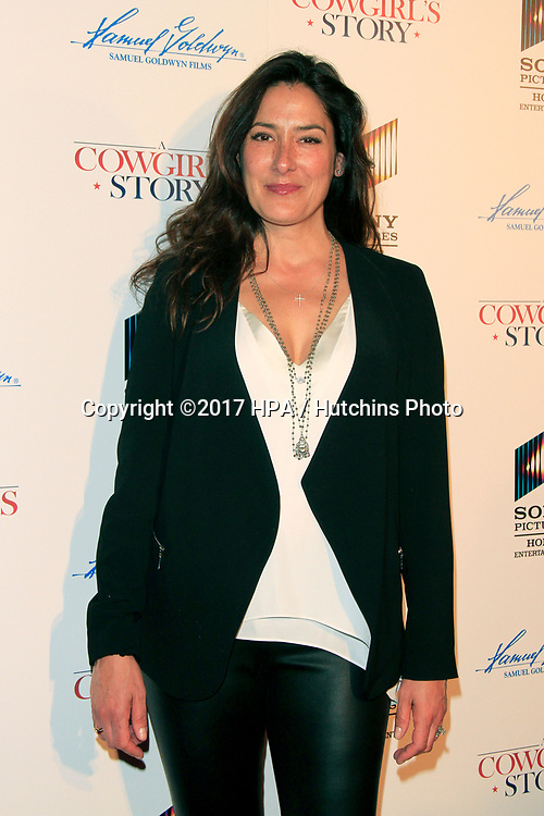 """LOS ANGELES - APR 13:  Alicia Coppola at the """"A Cowgirl's Story"""" Premiere at the Pacific Theatres at The Grove on April 13, 2017 in Los Angeles, CA"""