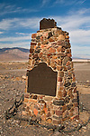 Historical Marker, Death Valley National Park, California