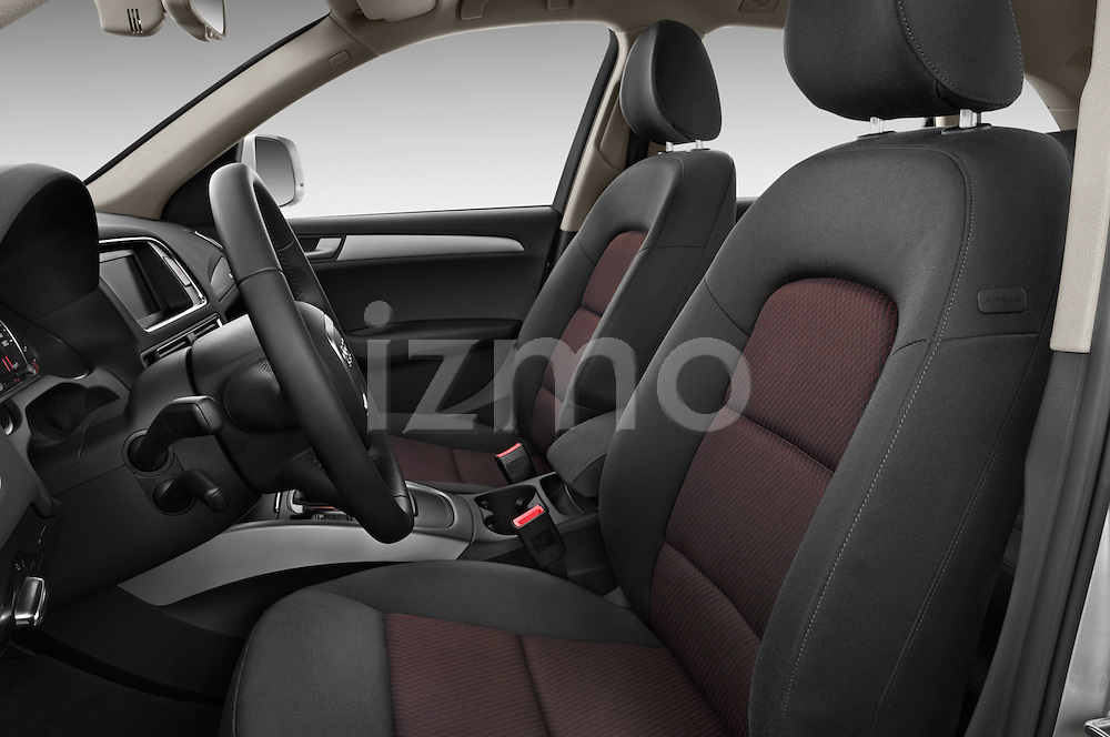 Front seat view of a 2009 - 2012 Audi Q5 Ambiente 5 Door Suv 4WD