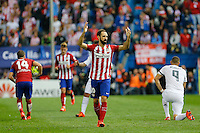 Atletico Madrid´s Spanish defense Juanfran Torres