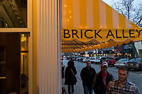 Brick Alley Pub is a restaurant and bar located on Thames Street in Newport, Rhode Island, seen here on Wed., April 19, 2017.