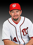 25 February 2011: Bob Henley, Spring Training Instructor for the Washington Nationals, poses for his portrait on Photo Day at Space Coast Stadium in Viera, Florida. Mandatory Credit: Ed Wolfstein Photo