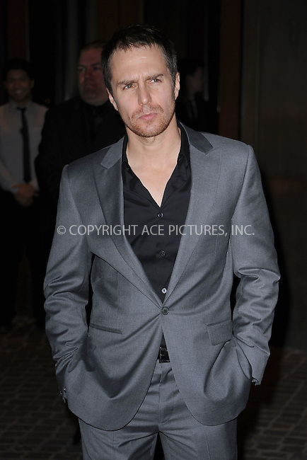 WWW.ACEPIXS.COM . . . . . .October 12, 2010, New York City...Sam Rockwell attends the screening of 'Conviction' at Tribeca Grand Hotel on October 12, 2010 in New York City....Please byline: KRISTIN CALLAHAN - ACEPIXS.COM.. . . . . . ..Ace Pictures, Inc: ..tel: (212) 243 8787 or (646) 769 0430..e-mail: info@acepixs.com..web: http://www.acepixs.com .