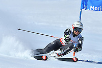 February 16, 2017: Adeline BAUD MUGNIER (FRA) competing in the women's giant slalom event at the FIS Alpine World Ski Championships at St Moritz, Switzerland. Photo Sydney Low
