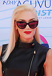 UNIVERSAL CITY, CA - JULY 22: Gwen Stefani of No Doubt arrives at the 2012 Teen Choice Awards at Gibson Amphitheatre on July 22, 2012 in Universal City, California.