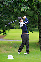 Jack Pierse (Portmarnock) on the 3rd tee during round 1 of The Mullingar Scratch Cup in Mullingar Golf Club on Sunday 3rd August 2014.<br /> Picture:  Thos Caffrey / www.golffile.ie