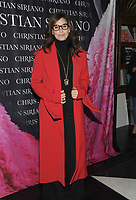 NEW YORK, NY - NOVEMBER 08: Gina Gershon attend the release of Christian Siriano's  book 'Dresses To Dream About' at the Rizzoli Flagship Store on November 8, 2017 in New York City.  Credit: John Palmer/MediaPunch