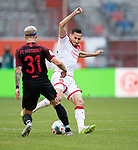 Steven SKRZYBSKI r. (D) im Zweikampf gegen Philipp MAX (A),  <br /><br />Fussball 1. Bundesliga, 33.Spieltag, Fortuna Duesseldorf (D) -  FC Augsburg (A), am 20.06.2020 in Duesseldorf/ Deutschland. <br /><br />Foto: AnkeWaelischmiller/Sven Simon/ Pool/ via Meuter/Nordphoto<br /><br /># Editorial use only #<br /># DFL regulations prohibit any use of photographs as image sequences and/or quasi-video #<br /># National and international news- agencies out #