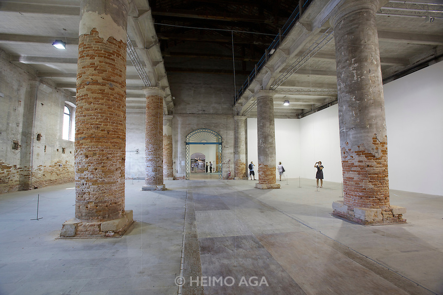 "12th Biennale of Architecture. Corderie dell'Arsenale. ""Architecture as air: Study for cha?teau la coste"", 2010 by junya.ishigami+associates, Japan. Golden Lion of the best project of the Exhibition People meet in architecture."