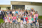 ..HUNDREDS: Hundreds of childrens with their parents met up with the Roses at the Kerry County Libreary on Saturday morning. ....