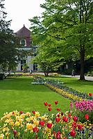 Deutschland, Bayern, Oberbayern, Berchtesgadener Land, Bad Reichenhall:  im Koeniglichen Kurpark | Germany, Bavaria, Upper Bavaria, Berchtesgadener Land, Bad Reichenhall: Royal Spa Gardens