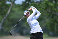 Ally McDonald (USA) watches her tee shot on 5 during round 4 of the 2019 US Women's Open, Charleston Country Club, Charleston, South Carolina,  USA. 6/2/2019.<br /> Picture: Golffile | Ken Murray<br /> <br /> All photo usage must carry mandatory copyright credit (© Golffile | Ken Murray)