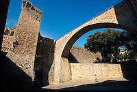 Italien, Toskana, Massa Marittima, Fortezza