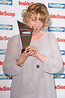 Charlie Hardwick<br /> at the Inside Soap Awards 2016 held at the Hippodrome Leicester Square, London.<br /> <br /> <br /> ©Ash Knotek  D3157  03/10/2016