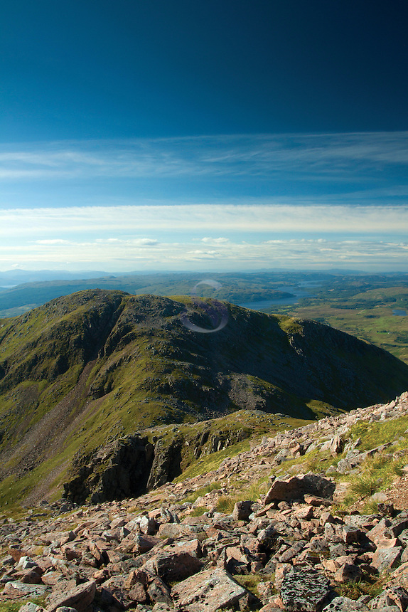 Meall Cuanail from the Munro of Ben Cruachan, Argyll & Bute