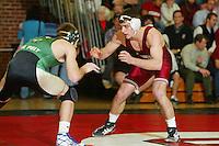 9 February 2005: Matt Gentry during wrestling at Burnham Pavilion in Stanford, CA.