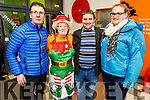 Ger Breen, Phylis McLoughlan, James O'Connor and Karen Flynn attending the St Johns Bazaar in the KDYS on Friday night.